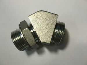 Threaded Fitting Cross Hydraulic Tube pictures & photos