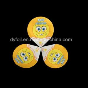 Food Grade Aluminum Foil Lid for Plastic Yogurt Cup pictures & photos