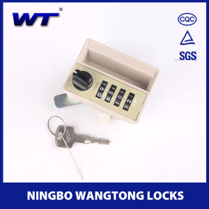 with Holder 4 Digits Combination Lock for Locker pictures & photos