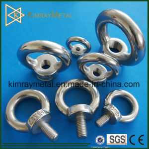Stainless Steel Rigging Eye Bolt with Screw pictures & photos