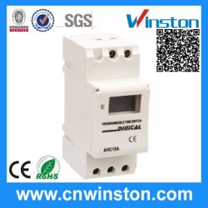 Ahc15A DIN Rail Programmable Digital Electronic Time Switch with CE pictures & photos