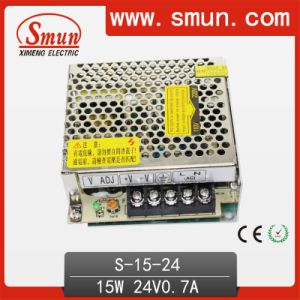 High Quality 100V-240VAC Input 15W 0.7A 24VDC Output Power Supply pictures & photos