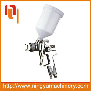 High Quality 600ml Plastic Cup Gravity Type Pneumatic HVLP Spray Gun pictures & photos