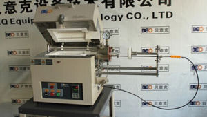 1200c Sliding Rapid Thermal Tube Furnace for Heating Treatment