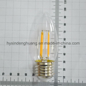 LED Filament Lamp C35 4W E14