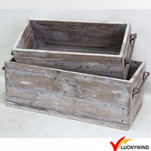 Rustic Old Vintage Antique Reclaimed and Recycled Solid Wood Furniture pictures & photos