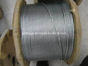 Steel Wire Rope. Electro. Galvanized Steel Wire Rope, 19*7 pictures & photos