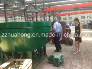 Low Investment Cone Wet Pan Mill for Sudan Gold Wash Plant pictures & photos