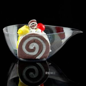 Plastic Bowl Disposable Bowl Chic Drop Shaped Dish pictures & photos