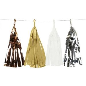 Tissure Garland, Tassel Garland for Decoration