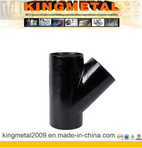 45 Degree Pipe Fitting Lateral Tee pictures & photos
