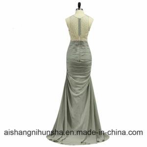 Elegante Chiffon Vestidos De Noite COM crystal Vestidos pictures & photos
