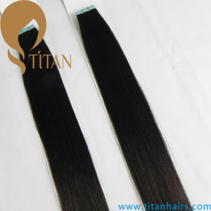 Virgin Remy Human Tape Hair Extension (Titan hair 368)