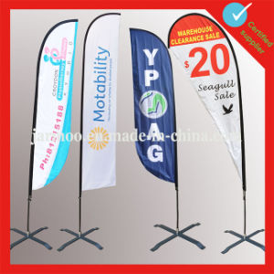 2016 Promotional Wind Feather Flag for Outdoor pictures & photos