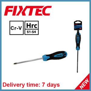 Fixtec CRV Hand Tools 100mm Magnetized Tip Phillips Screwdriver pictures & photos