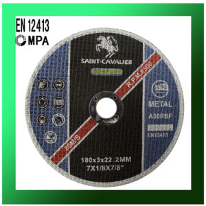 """Flat Cut off Wheel for Metal Cutting 7""""X1/8""""X7/8"""" pictures & photos"""