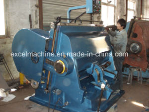 Die Cutting Creasing Machine for Romania Client Ml-1500 Since 2009 pictures & photos