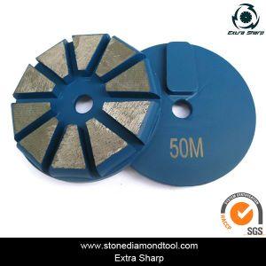 3 Inch 80mm 10 Segment Concrete Redilock Grinding Diamond pictures & photos