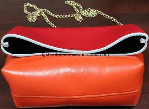 Folded Neoprene Bag with Long Metal Belt (STNB-022-01) pictures & photos