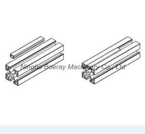 U Shape T Slot PVC Aluminum Profile Cover Strip pictures & photos