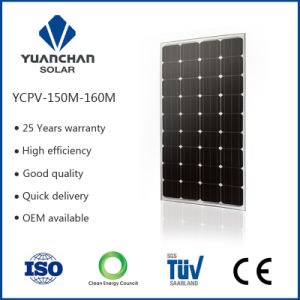 New Discount Price and Has Testing Report Monocrystal Solar Panel 150 Watt in China pictures & photos
