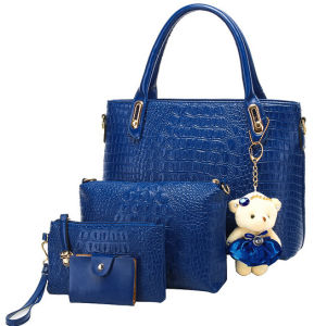 Top Quality Handbags Crocodile Handbag Set (XM003) pictures & photos