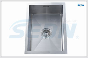 Handmade Single Bowl Stainless Steel Sinks (SB1004) pictures & photos