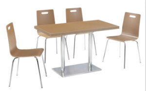 Hot Sale Restaurant Table and Chair Canteen Table and Chair pictures & photos