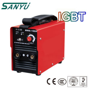Sanyu IGBT Inverter Mini Welding Machine with High Duty Cycle pictures & photos