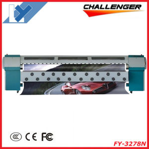 3.2m Challenger Industrial Inkjet Solvent Large Format Printer (FY-3278N) pictures & photos