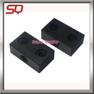 Black Painting CNC Machining ABS Plastic Prototype Parts pictures & photos