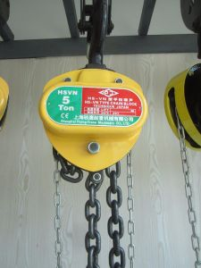 Material Handling Equipment/Pulling Block/ Chain Hoist pictures & photos