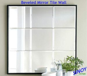 China Good Price Sinoy Silver Mirror for Bathroom Mirrors pictures & photos