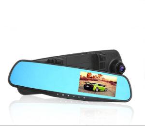 Dual Lens Tachograph Rearview Mirror Camera Cars DVR pictures & photos