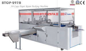 Btcp-297A Automatic A4 Ream Packing Machine pictures & photos