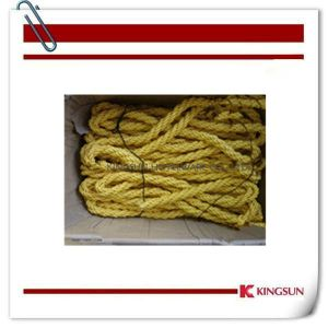 32mm 9 Strands Polyester Rope for Rope Barrier pictures & photos