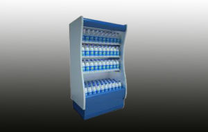 Customize Beverage Open Chiller Made in China pictures & photos