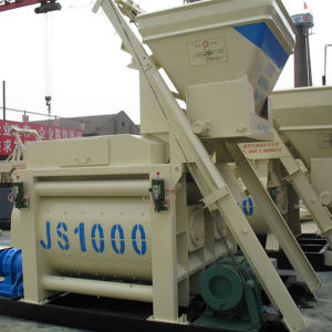 Js1000 Twin-Shaft High Quality Concrete Mixer Price pictures & photos