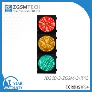 300mm 12 Inch Red Yellow Green LED Model Traffic Light