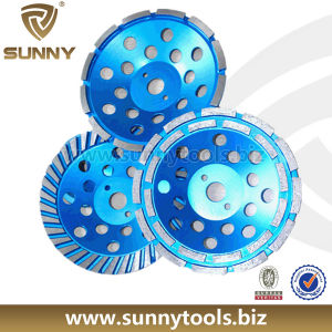 High Quality Diamond Grinding Cup Wheel for Concrete pictures & photos