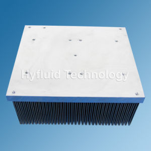 Folded Fin Heat Sink pictures & photos