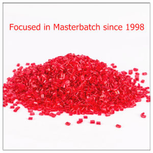 Red Plastic Masterbatch for Injection