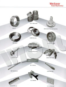 Spare Parts for Pellet Mill/Gear Wheel/Shaft/Roller Assembly/Bearing pictures & photos