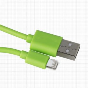 Mobile Accessories PVC Insulated 8 Pin USB Data and Charing Cable pictures & photos