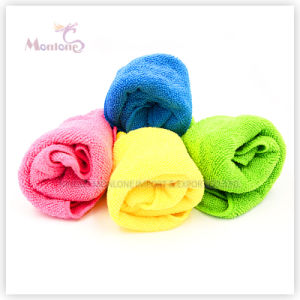 Wholesale 30*40cm Microfiber Cleaning Cloth Microfiber Towel pictures & photos