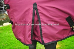 600d Waterproof Turnout Horse Rugs with Reflective Strips pictures & photos