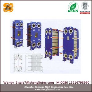 Water Cooling & Heating Stainless Steel Plate Heat Exchanger pictures & photos