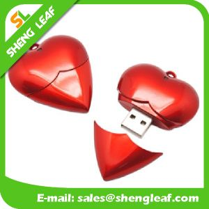 Promotional Gift Adorable Colorful Rubber USB Flash Drive (SLF-RU024) pictures & photos