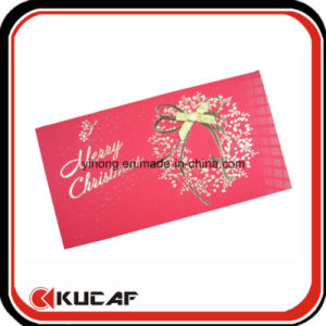 Custom Printing Pretty Hot Stamping Christmas Greeting Card pictures & photos