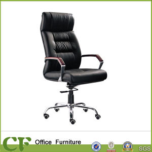 Ergonomic Swivel Office Leather Executive Chair with Headrest pictures & photos